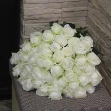 Белые эквадорские розы