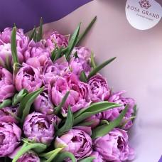 Букет голландских тюльпанов Ду дабл Прайс
