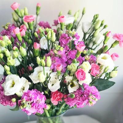 Цветы в вазу на дом